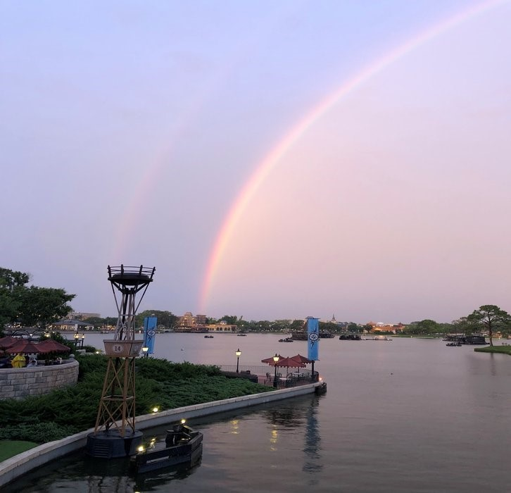 Double Rainbow at Epcot